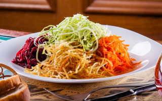Салат Чафан: рецепты приготовления с фото