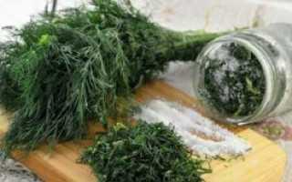 Как засолить зелень на зиму: рецепты в банке