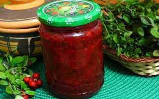 Желе из брусники: рецепты приготовления на зиму
