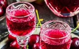 Наливка из черешни в домашних условиях: на водке, на спирту, на самогоне