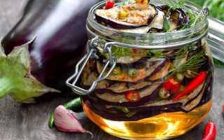 Баклажаны в масле на зиму: лучшие рецепты приготовления