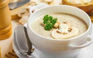 Грибной соус из опят со сливками: из замороженных, сухих, свежих грибов