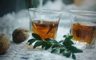 Коньяк на ореховых перегородках грецкого ореха: рецепты