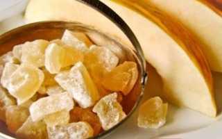 Цукаты из дыни, как приготовить в домашних условиях, калорийность