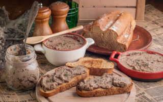 Паштет из белых грибов: вкусные рецепты приготовления с фото