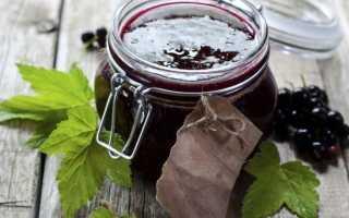 Повидло из черной смородины: пошаговые рецепты приготовления