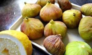 Варенье из инжира с лимоном: рецепты приготовления с фото