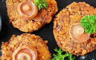 Котлеты из рыжиков: пошаговые рецепты приготовления с фото