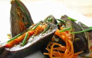 Соленые баклажаны под гнетом: с чесноком, морковью, зеленью