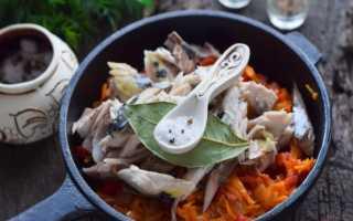 Консерва из скумбрии на зиму: рецепты в масле, в томате, с овощами, с баклажанами