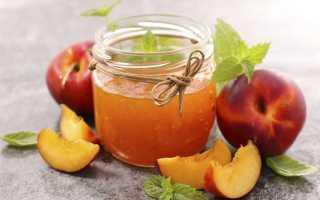 Варенье из персиков и яблок