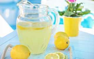 Лимонад в домашних условиях из лимона: рецепты