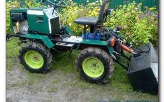 Мини-трактора для домашнего хозяйства своими руками