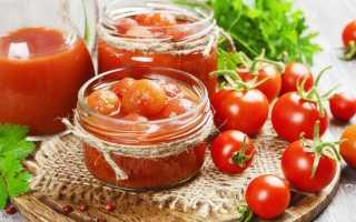 Вкусные помидоры в томатном соке
