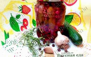 Огурцы с красной смородиной на зиму: маринованные, соленые, с уксусом и без