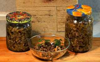 Грибная икра на зиму: рецепты через мясорубку, без стерилизации, с овощами