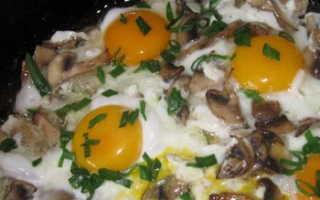 Яйца с опятами: как пожарить и нафаршировать, рецепты приготовления с фото
