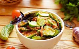 Рецепт – огурцы в аджике