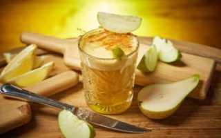 Грушевая наливка: простые рецепты на водке, без спирта в домашних условиях