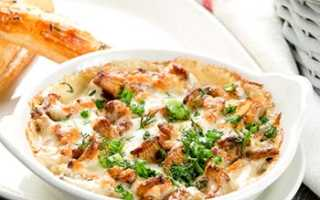 Грибной соус из лисичек: рецепты подливы к мясу, спагетти