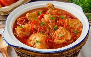 Чахохбили из курицы в мультиварке: пошаговые рецепты по-грузински, классический