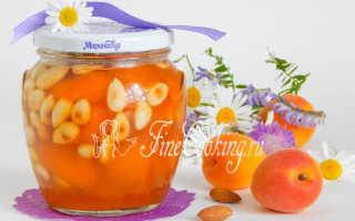 Варенье из персиков с орехам: грецкими, миндалем, фундукам, ядрами из косточек