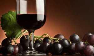 Домашнее вино из черного винограда
