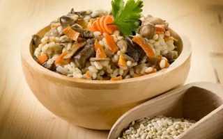 Перловка с белыми грибами: вкусные рецепты приготовления с фото
