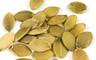 Тыквенные семечки при похудении: калорийность, отзывы, диета