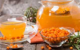 Облепиховый чай: 30 рецептов