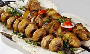 Белый гриб на костре: как приготовить, рецепты шашлыка с фото