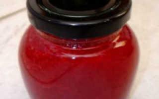 Простой джем из малины на зиму: пятиминутка, с желатином, в мультиварке
