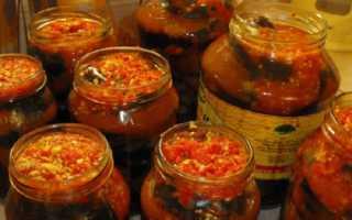 Баклажаны по-татарски на зиму: лучшие рецепты приготовления, видео
