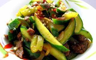 Салат по-корейски с мясом и огурцами: вкусные рецепты закусок