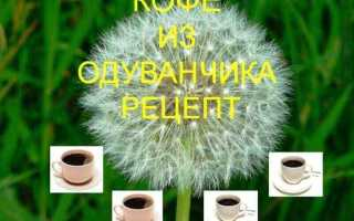 Кофе из одуванчиков: как приготовить, рецепты, как сделать из корней, с медом