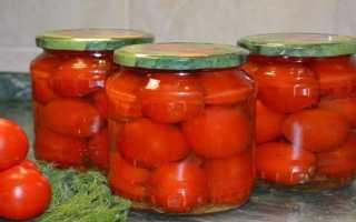 Консервирование помидоров на зиму: очень вкусные рецепты в 2 и 3 литровых банках