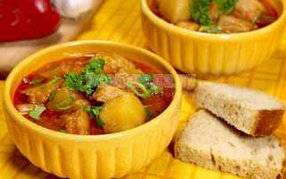 Гуляш по-венгерски из свинины: классический рецепт, суп-гуляш, с подливкой, с картошкой