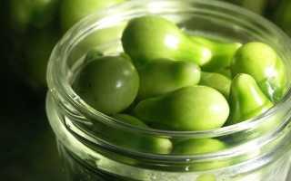 Зеленые помидоры на зиму: простой рецепт