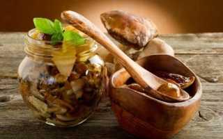 Икра из белых грибов на зиму: рецепты из ножек, с чесноком, без стерилизации