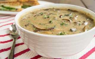 Грибной суп из шампиньонов с плавленым сыром: рецепты с курицей, с картофелем, с брокколи
