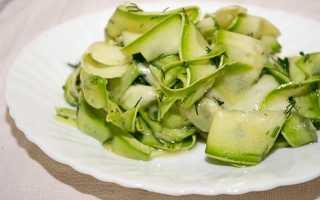 Салат на зиму из кабачков и огурцов: вкусные и простые рецепты заготовок с фото
