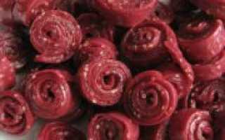 Пастила из красной смородины: рецепты в домашних условиях