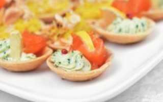 Тарталетки с авокадо: рецепты с творожным сыром, красной икрой, креветками