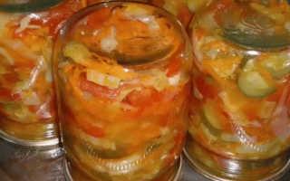 Салаты на зиму из огурцов, кабачков, помидоров: быстрые и вкусные пошаговые рецепты с фото