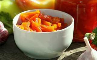 Лечо с томатным соком