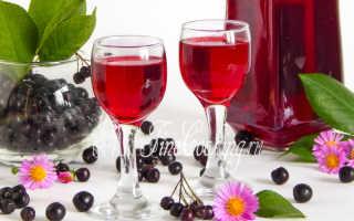 Ликер из черноплодной рябины в домашних условиях: рецепты на водке, на спирту
