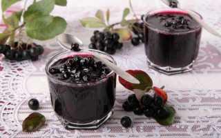 Варенье из черноплодной рябины: рецепты с орехами, пятиминутка, со сливой, с корицей