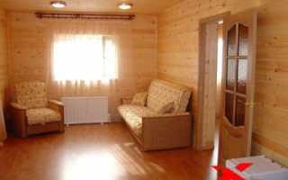 Интерьер дачного дома внутри + фото эконом-класса