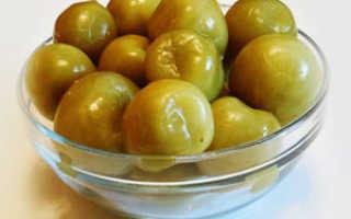 Соленые зеленые помидоры в банках, как бочковые