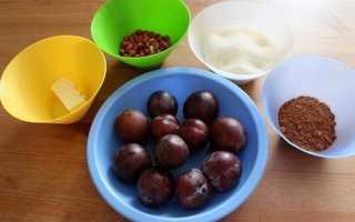 Сливы с какао на зиму: 11 рецептов